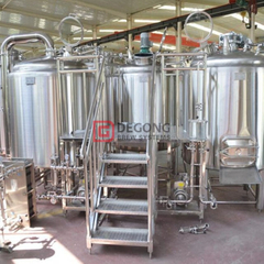 Brewhouse 1000L Industrial Professional Beer Beer Equipment Equipment with Double Jacket Fermenter na prodej